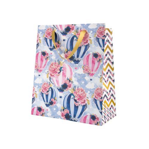Premium gift bag M Indigo (25 * 20 * 13,6 sm.)