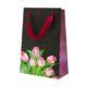 Premium gift bag SM Tulpani (20,4 * 12,7 * 9 sm.)